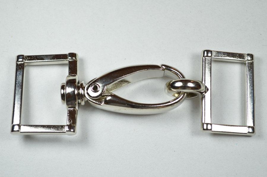 d055af82ad Moschettone Metallo Completo Mm 25 Per Borse Art. 19317. Marca: Daddario